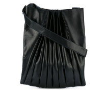 ruched shoulder bag - unisex - Leder