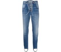Jeans mit Steg