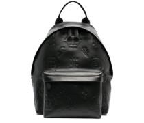 Rucksack mit eingeprägtem Monogramm