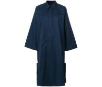 wide sleeve shirt dress