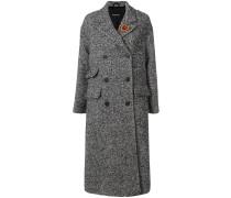heart embellished coat