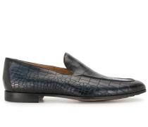 Loafer mit Kroko-Prägung