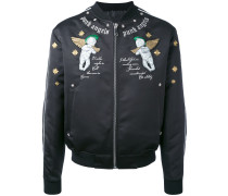 "Bomberjacke mit ""Punk Angels""-Stickerei"