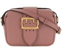 buckle plaque shoulder bag