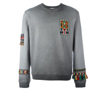 'Jamaica' Sweatshirt mit Stickerei