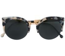 Sonnenbrille mit Animal-Print