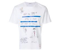 """T-Shirt mit """"Not for Sale""""-Stickerei"""