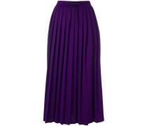 accordion pleated skirt