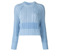 random cable knitted top