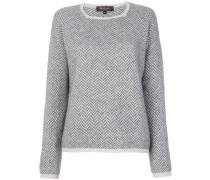 Pullover mit eckigem Ausschnitt