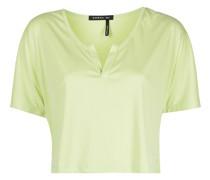 T-Shirt mit Henley-Kragen