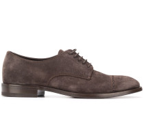 Oxford-Schuhe mit Budapestermuster
