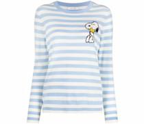 Pullover mit Snoopy-Intarsie