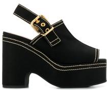 Sandalen mit hohem Plateau