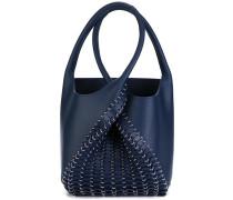 Handtasche mit überkreuzten Henkeln
