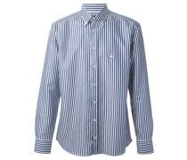 Gestreiftes Hemd mit Button-down-Kragen
