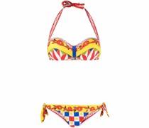 Bikini mit Carretto-Print