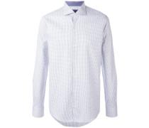 fine print shirt - men - Baumwolle - 41