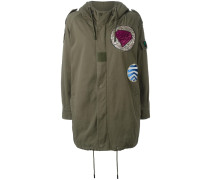 Military-Jacke mit Patches - women