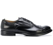 Derby-Schuhe mit Glanzeffekt