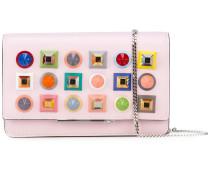 - Portemonnaie mit Kettenriemen - women - Leder