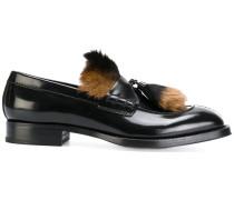 Klassische Nerz-Loafer