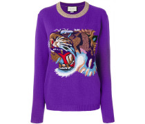 tiger knitted sweater