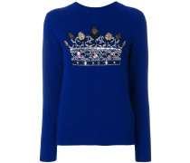 sequin embellished jumper