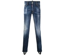 Stegjeans in Distressed-Optik
