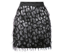embellished straight skirt