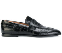 Loafer in Krokodilleder-Optik