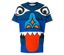 totem print T-shirt