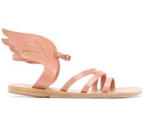 'Ikaria' Sandalen mit Flügelapplikation