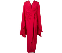 Wickelkleid im Kimono-Style - women - Silk