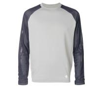 'Hybrid' Pullover mit rundem Ausschnitt