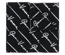 signature Greca intarsia scarf