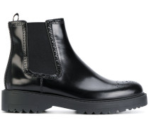 brogue ankle boots