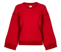 Oversized-Sweatshirt aus Wolle