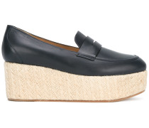 Penny-Loafer mit Plateausohle