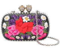 Queen and King floral clutch