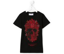 - T-Shirt mit Totenkopf-Print - kids