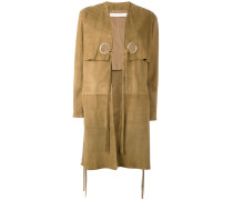 Mantel aus Ziegenleder - women
