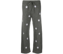 Hose mit Sterne-Print