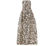sequin embellished strapless dress