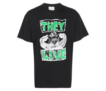 "T-Shirt mit ""They Live""-Print"