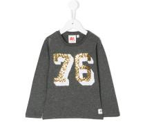sequin embroidery sweatshirt