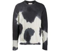 Pullover im Batik-Look
