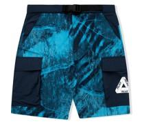 Asymetric Real Tree Shell Shorts