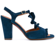 Sandalen mit T-Riemen - women