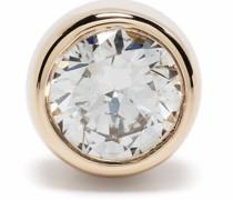 14kt yellow  Monroe diamond stud earring